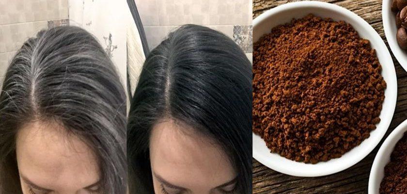 Masca de cafea pentru părul gri! Reteta de frumusete